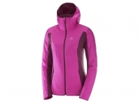 GIACCA DONNA DRIFTER MID HOODIE W Rose Violet/Fig